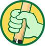 Triplaten van Diepen Groene Hand